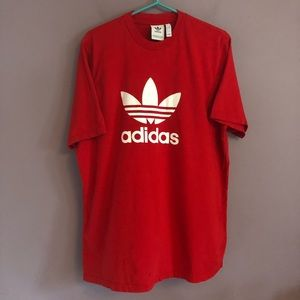 Adidas Graphic Logo T Shirt Size Large